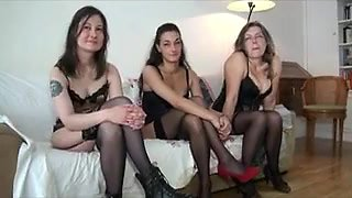 Three milf have a fun